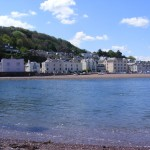 Shaldon Beach, with some SSC boats onshore!